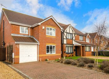 Thumbnail 4 bed detached house for sale in Mercia Close, Quarrington, Sleaford