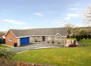 Thumbnail 3 bed detached bungalow for sale in Franksbridge, Llandrindod Wells, Powys