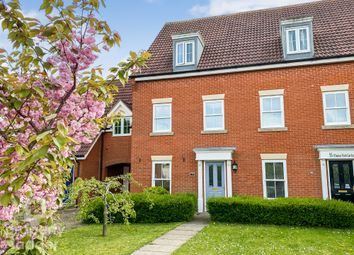 Thumbnail 4 bed terraced house for sale in Windsor Park Gardens, Sprowston, Norwich