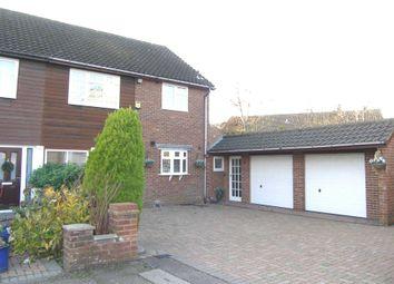 Thumbnail 3 bed semi-detached house for sale in Larken Drive, Bushey