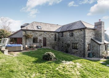 Thumbnail 5 bedroom detached house for sale in Dunstan Lane, St. Mellion, Saltash