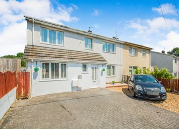Thumbnail Semi-detached house for sale in Ton Road, Cwmbran