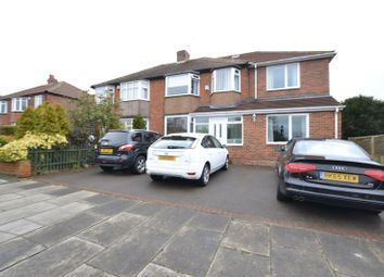 Thumbnail 5 bedroom semi-detached house for sale in Melville Grove, High Heaton, Newcastle Upon Tyne