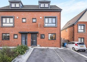 Thumbnail 3 bed semi-detached house for sale in Worsley Close, Castlefields, Runcorn