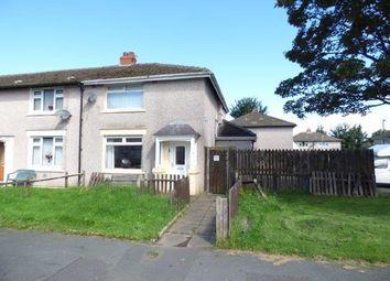 Thumbnail 2 bed semi-detached house for sale in Laburnum Grove, Lancaster, Lancashire