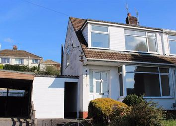 Thumbnail 3 bed semi-detached bungalow for sale in St. David Drive, Killay, Swansea
