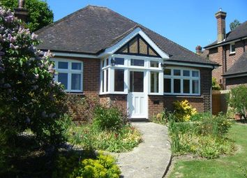 Thumbnail 3 bed bungalow to rent in Woodland Way, Bidborough, Tunbridge Wells