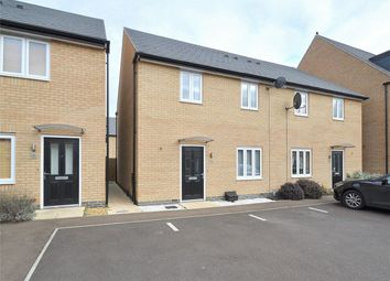 Thumbnail 4 bed semi-detached house for sale in Barleyfield Way, Huntingdon, Cambridgeshire