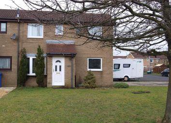 Thumbnail 2 bed end terrace house for sale in Hazelmere Crescent, Cramlington