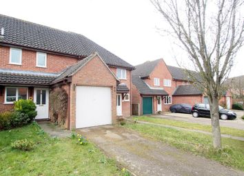 Thumbnail 2 bed terraced house for sale in Pages Close, Wymondham