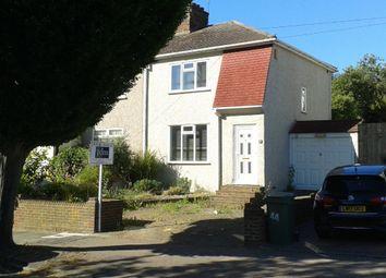 Thumbnail 3 bedroom semi-detached house for sale in Walden Avenue, Chislehurst, Kent