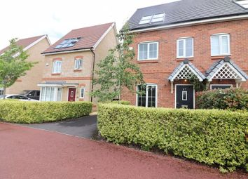 Thumbnail 3 bed semi-detached house for sale in Malkins Wood Lane, Worsley, Manchester