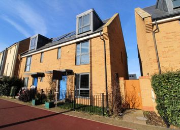 Thumbnail 4 bed semi-detached house for sale in Fen Street, Brooklands, Milton Keynes