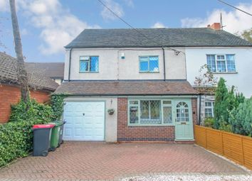 Thumbnail 4 bed semi-detached house for sale in Edge Hill, Wood End, Atherstone