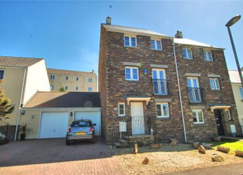 Thumbnail 4 bed detached house for sale in Fatherford Road, Okehampton