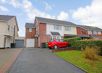 Thumbnail 3 bed semi-detached house for sale in Bear Lane Close, Polesworth, Tamworth