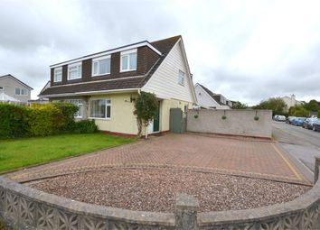 Thumbnail 3 bed semi-detached house for sale in Pendeen Crescent, Threemilestone, Truro