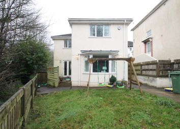 Thumbnail 3 bed detached house for sale in Moorfield Avenue, Plymouth