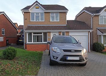 Thumbnail 3 bed detached house for sale in Gleadsmoss Lane, Oakwood, Derby