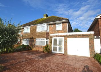 Thumbnail 3 bed semi-detached house to rent in Terringes Avenue, Worthing