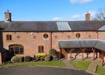 Thumbnail 4 bed barn conversion for sale in Barthomley Road, Crewe