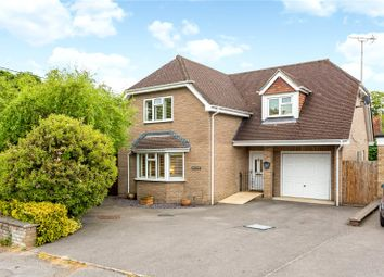 Thumbnail 4 bed detached house for sale in The Paddock, Headley, Hampshire