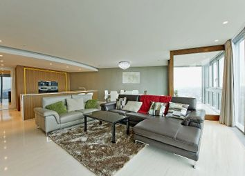 Thumbnail 3 bed flat to rent in The Tower, St. George Wharf, Vauxhall