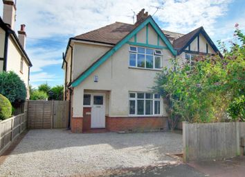 Thumbnail 3 bed semi-detached house for sale in Bulkington Avenue, Tarring, Worthing, West Sussex