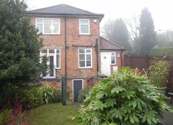 Thumbnail 3 bed detached house to rent in Hallam Road, Mapperley, Nottingham