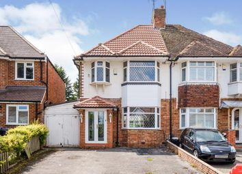 Thumbnail 3 bed semi-detached house for sale in Colebourne Road, Moseley, Birmingham, West Midlands