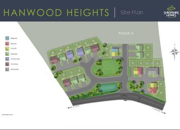 Thumbnail 4 bed detached house for sale in Plot 13 Hanwood Heights, Caradoc View, Hanwood, Shrewsbury