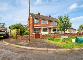 Thumbnail 4 bedroom semi-detached house to rent in Manor Park, Broughton, Malton