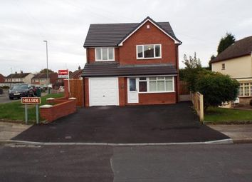 Thumbnail 4 bedroom detached house for sale in Hillside, Walsall, West Midlands