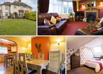 Thumbnail 4 bedroom semi-detached house for sale in Beaufort Road, Newport