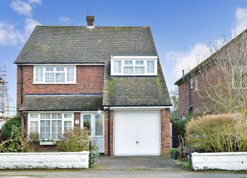 Thumbnail 3 bed detached house for sale in Cherry Garden Road, Canterbury, Kent