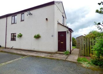 Thumbnail 2 bed end terrace house for sale in Croft Court, High Hesket, Carlisle