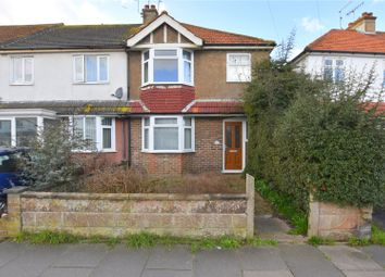 Thumbnail 3 bed end terrace house for sale in First Avenue, Lancing, West Sussex