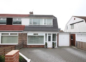 Thumbnail 3 bed semi-detached house for sale in Carlisle Crescent, Penshaw, Houghton Le Spring