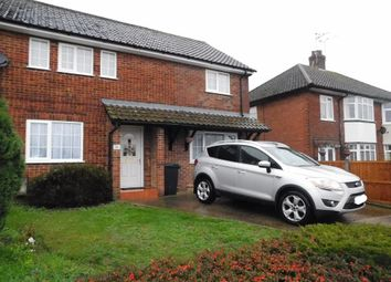 3 bed semi-detached house for sale in Onehouse Road, Stowmarket, Suffolk IP14