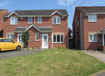 Thumbnail Semi-detached house for sale in Pebblebrook Way, Bedworth, Warwickshire