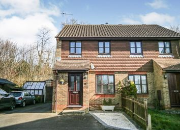Thumbnail 2 bed semi-detached house for sale in Almond Close, Ashford