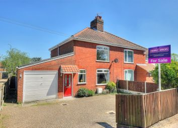 Thumbnail 3 bed semi-detached house for sale in Drayton High Road, Norwich