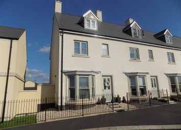 Thumbnail 4 bed end terrace house for sale in Lle Crymlyn, Coed Darcy, Neath, Neath Port Talbot.
