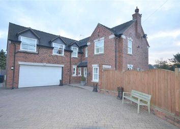 Thumbnail 4 bed detached house for sale in Caverswall Road, Blythe Bridge, Stoke-On-Trent