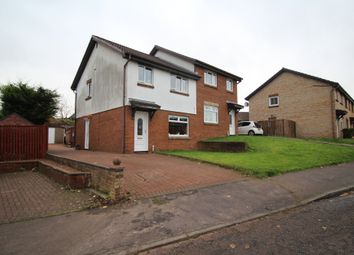 Thumbnail 3 bed semi-detached house for sale in Rhindmuir Drive, Baillieston, Glasgow