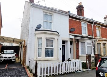Thumbnail 3 bedroom end terrace house for sale in Queens Road, Gosport