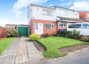 Thumbnail 2 bed semi-detached house for sale in St. Giles Gate, Scawsby, Doncaster
