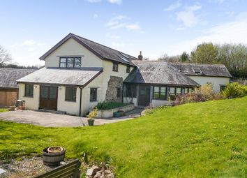 Thumbnail 4 bed barn conversion for sale in East Worlington, Crediton
