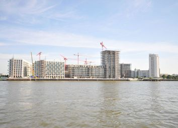 Thumbnail 3 bed flat for sale in North Woolwich Road, London