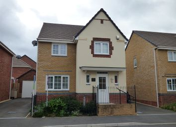 Thumbnail 4 bed detached house for sale in Cae Morfa, Skewen, Neath .